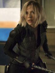 Scarlett Johansson Avengers Infinity War Black Vest