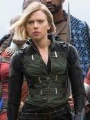 Scarlett Johansson Avengers Infinity War Green Vest
