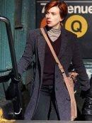 Scarlett Johansson Marriage Story Wool Coat