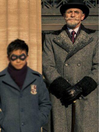 Sir Reginald Hargreeves The Umbrella Academy Wool Coat