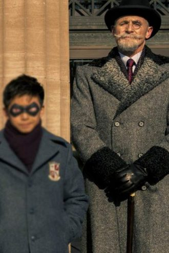 Sir Reginald Hargreeves The Umbrella Academy Wool Coat