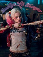 Suicide Squad Margot Robbie Property of Joker Satin Jacket