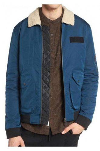 TV Series Arrow Rick Gonzalez Cotton Jacket With Fur Collar