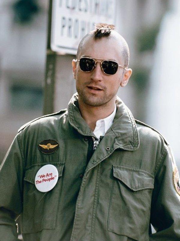 Taxi Driver Robert De Niro Green Military Jacket