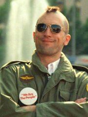 Taxi Driver Robert De Niro Military Jacket