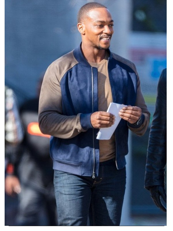 The Falcon And The Winter Soldier Anthony Mackie Bomber Jacket