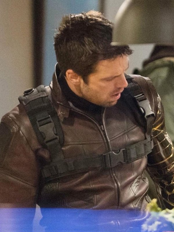 The Falcon And The Winter Soldier Bucky Barnes Leather Jacket
