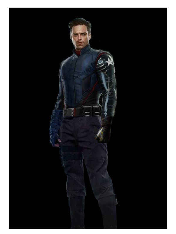 The Falcon And The Winter Soldier Bucky Blue Jacket