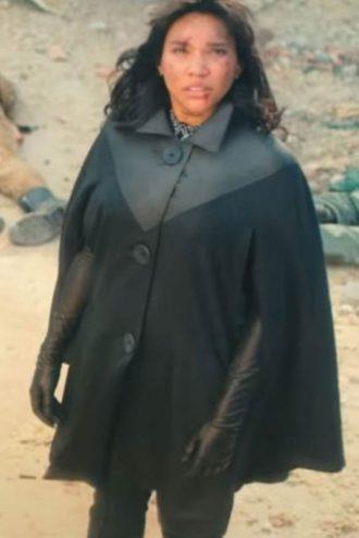 The Umbrella Academy Allison Hargreeves Black Cotton Jacket