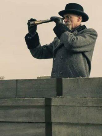 The Umbrella Academy S02 Colm Feore Grey Trench Coat