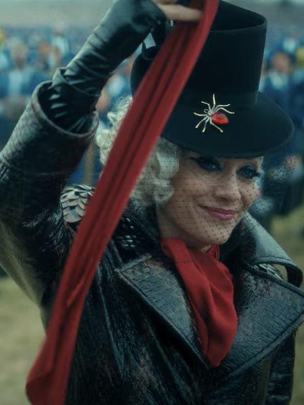 The Umbrella Academy S02 Kate Walsh Black Coat