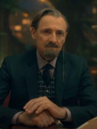 The Umbrella Academy S02 Sir Reginald Hargreeves Blue Blazer