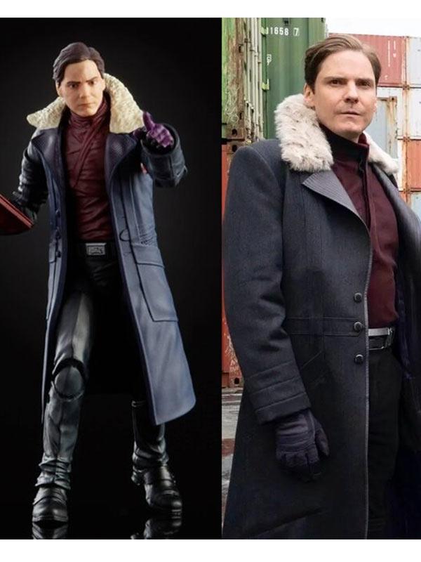 The Winter Soldier Baron Zemo Fur Coat