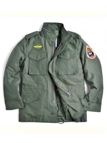 Travis Bickle Taxi Driver Green Jacket