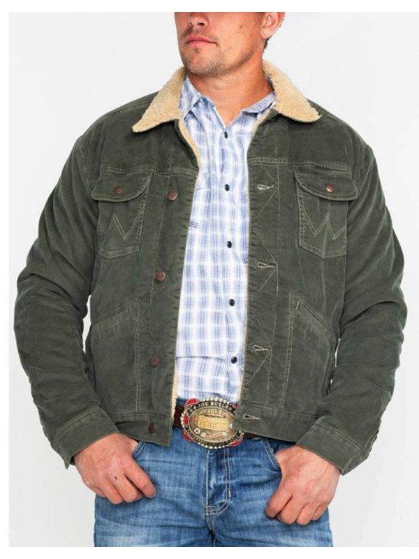 Tv Series High School Musical Joshua Bassett Green Sherpa Jacket