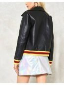 Tv Series High School Musical Nini Bomber Leather Jacket
