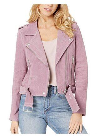 Tv Series High School Musical Olivia Rodrigo Suede Leather Jacket