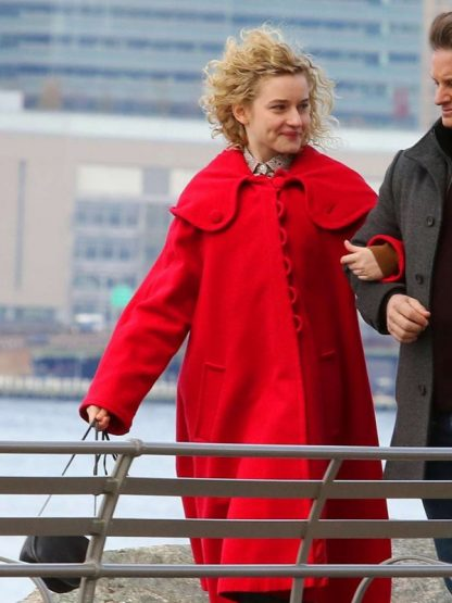 Tv Series Modern Love Maddy Red Hooded Coat