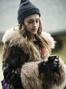 Tv Series Mr Robot Darlene Wool Coat With Fur