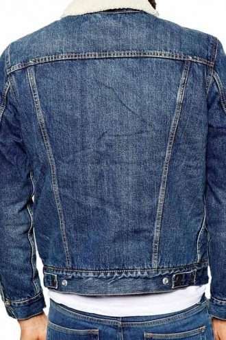 Tv Series Riverdale Cole Sprouse Shearling Denim Jacket