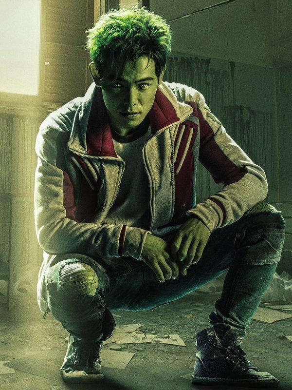 Tv Series Titans Gar Logan Beast Boy Fleece Jacket