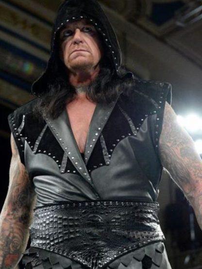 Undertaker Returns 25th Anniversary Of Raw Black Vest