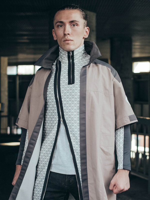 Video Game PS4 Detroit Become Human Marcus Coat