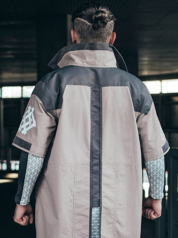 Video Game PS4 Detroit Become Human Marcus Cotton Coat