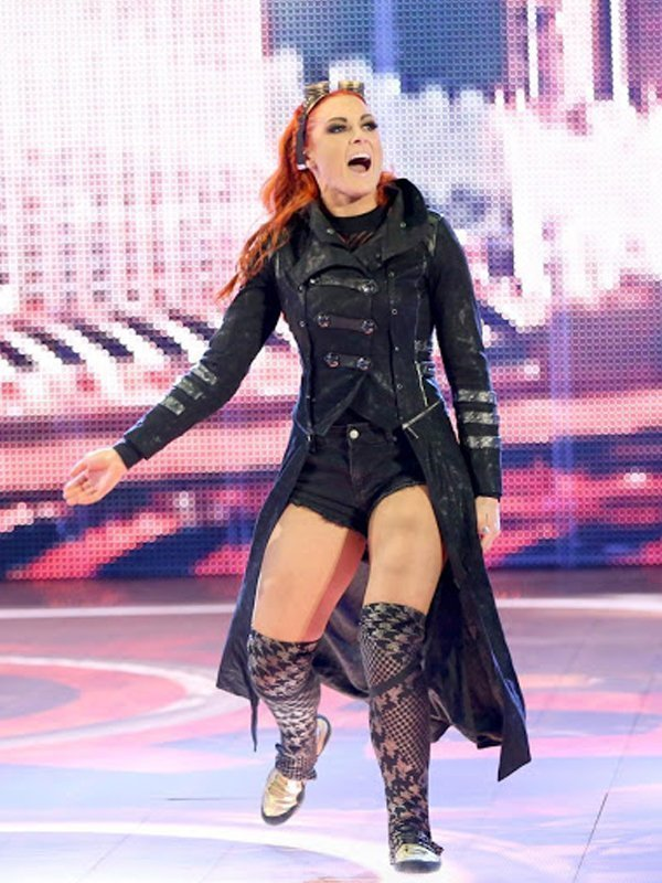 WWE Becky Lynch Black Coat