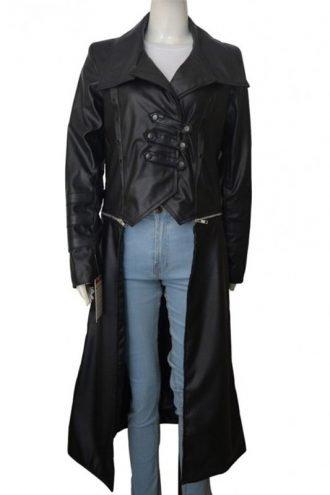 WWE Becky Lynch Black Leather Coat