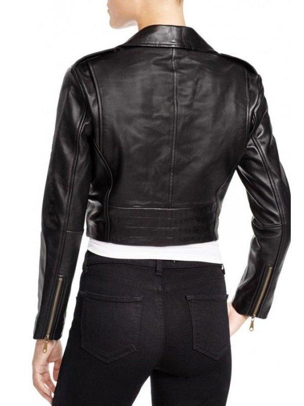 WWE Becky Lynch Black Leather Jacket
