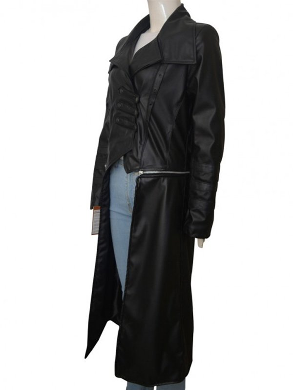 WWE Becky Lynch Black Long Coat