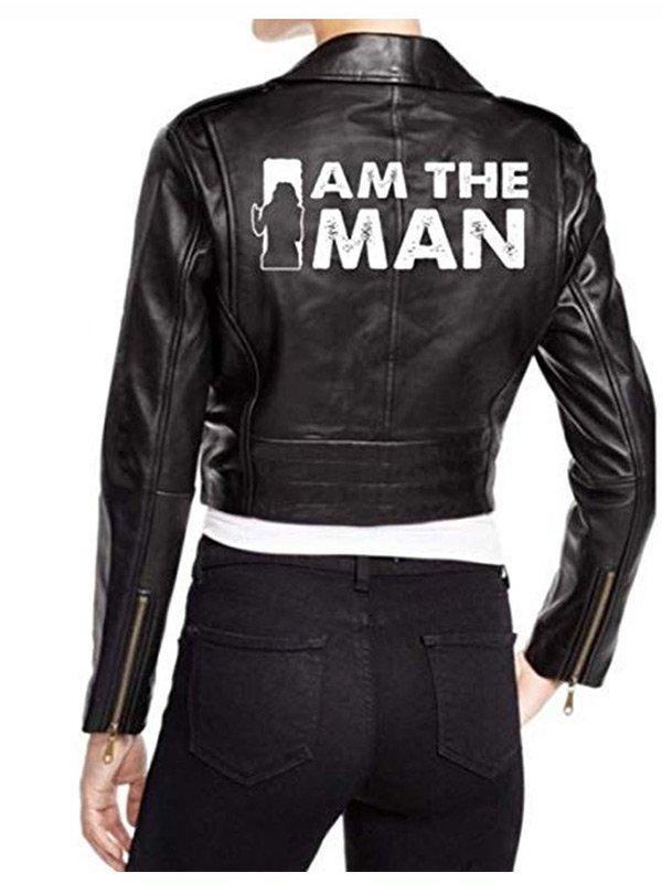 WWE Becky Lynch Black Motorcycle Jacket