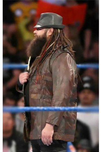 WWE Bray Wyatt Studded Leather Jacket