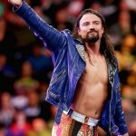 WWE Brian Kendrick Blue Leather Jacket