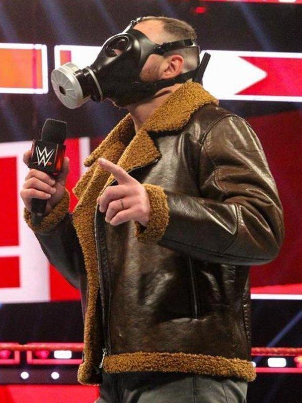 WWE Dean Ambrose Shearling Jacket