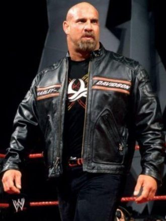 WWE Goldberg Harley Davidson Leather Jacket