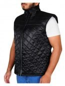 WWE John Cena Diamond Quilted Vest