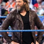 WWE Superstar Edge Brown Leather Jacket