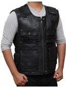 WWE Superstar Roman Reigns Leather Vest