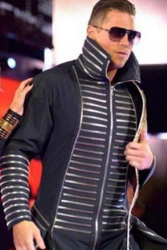 WWE The Miz Michael Gregory Mizanin Black Cotton Coat