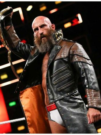 WWE Tommaso Ciampa Leather Coat