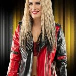 WWE Toni Storm Studded Biker Jacket