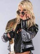WWE Toni Storm Studs Leather Jacket