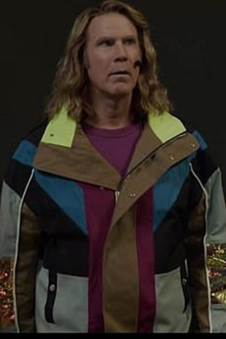Will Ferrell Eurovision Song Contes Multi Color Jacket