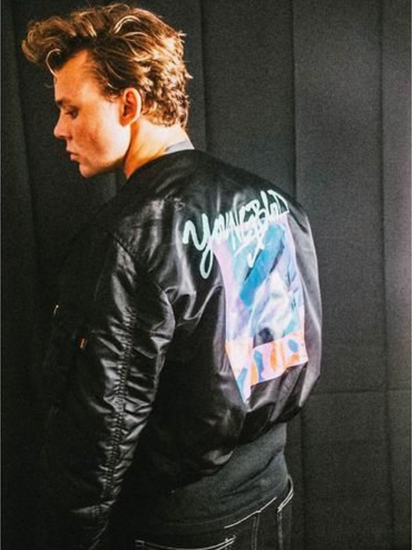 Youngblood 5SOS Michael Clifford Black Jacket