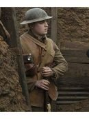 1917 Mens Brown Leather Vest