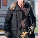 Abraham Ford The Walking Dead Black Wool Jacket