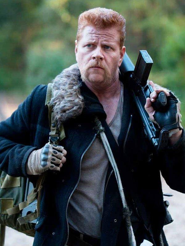 Abraham Ford The Walking Dead Fur Collar Jacket
