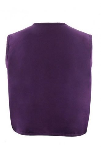 Adult Purple Aladdin Cotton Vest For Mens